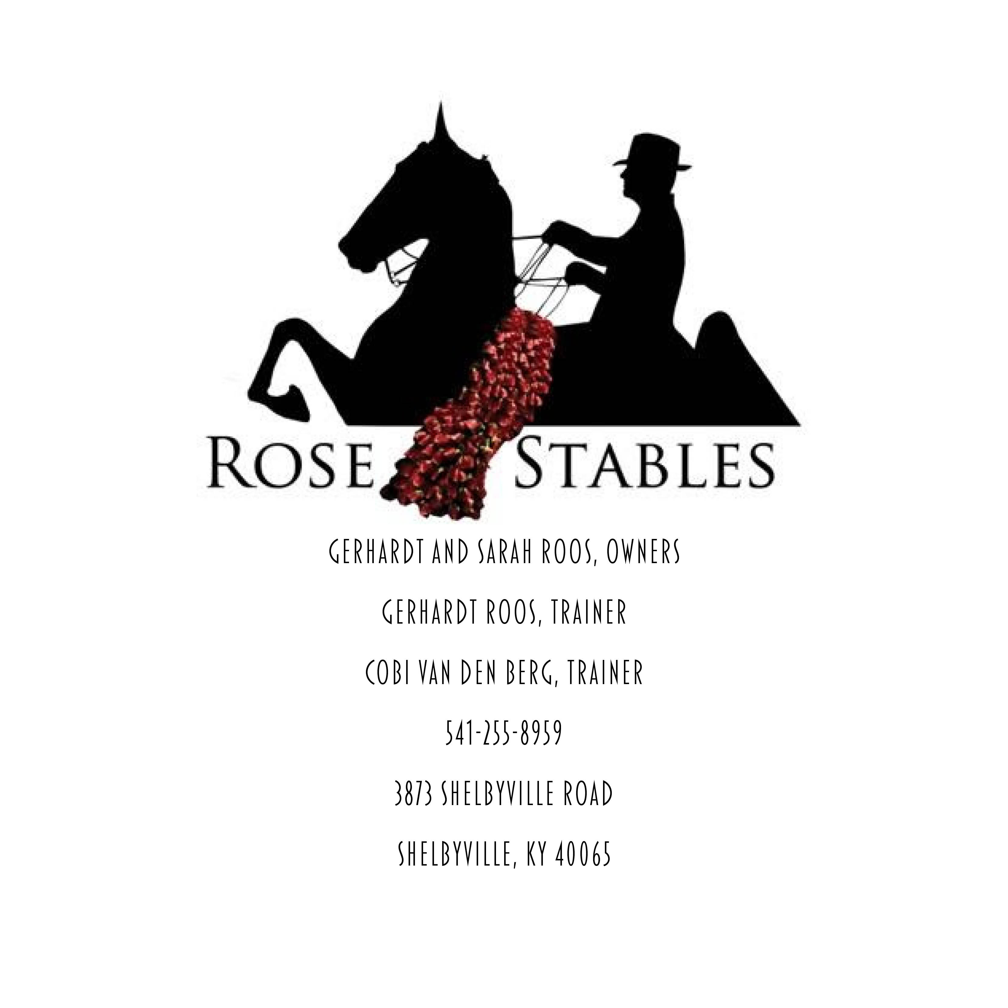 Rose Stables banner ad